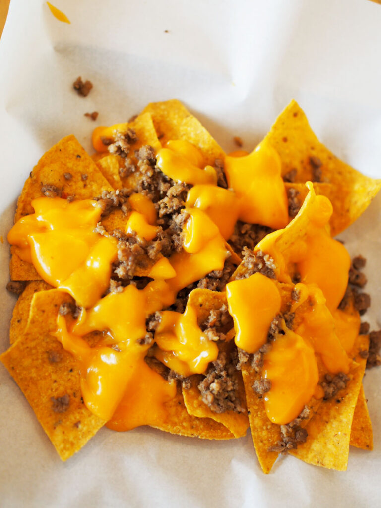 MEXICAN EXPRESS Nacho Beef and Cheese P75 A