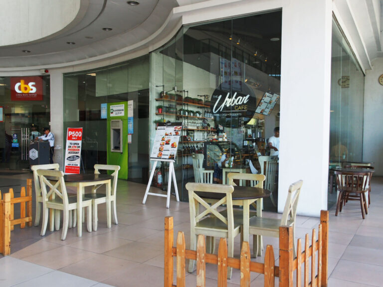 THE URBAN CAFE Storefront A