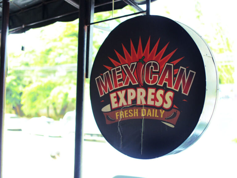 MEXICAN EXPRESS The Unmissable Logo